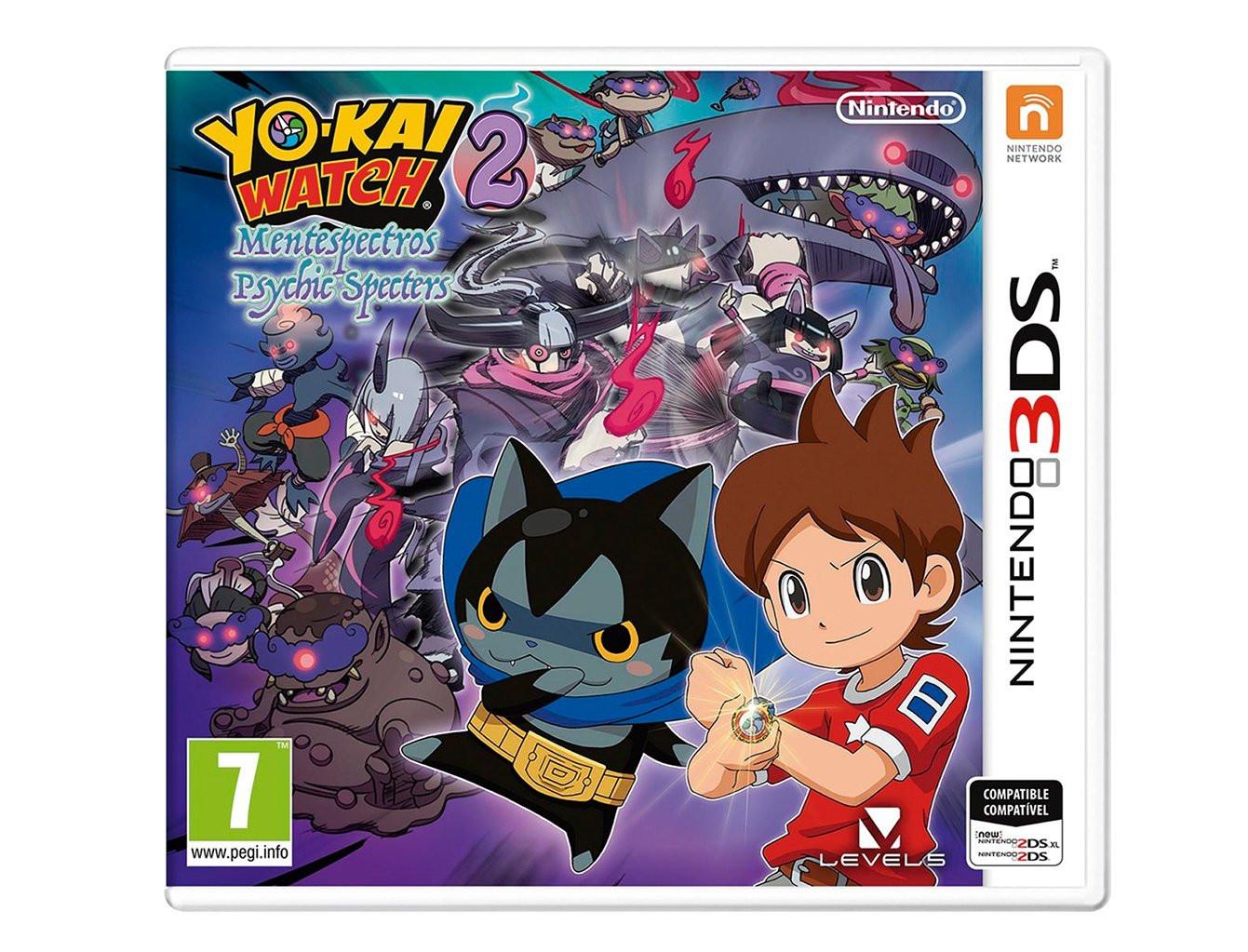 Yo Kai Watch 2 Mentespectros Nintendo 2ds 3ds Juegos 2ds 3ds
