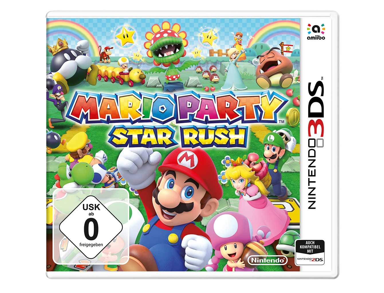 Mario Party Star Rush Nintendo 2ds 3ds Juegos 2ds 3ds Juegos