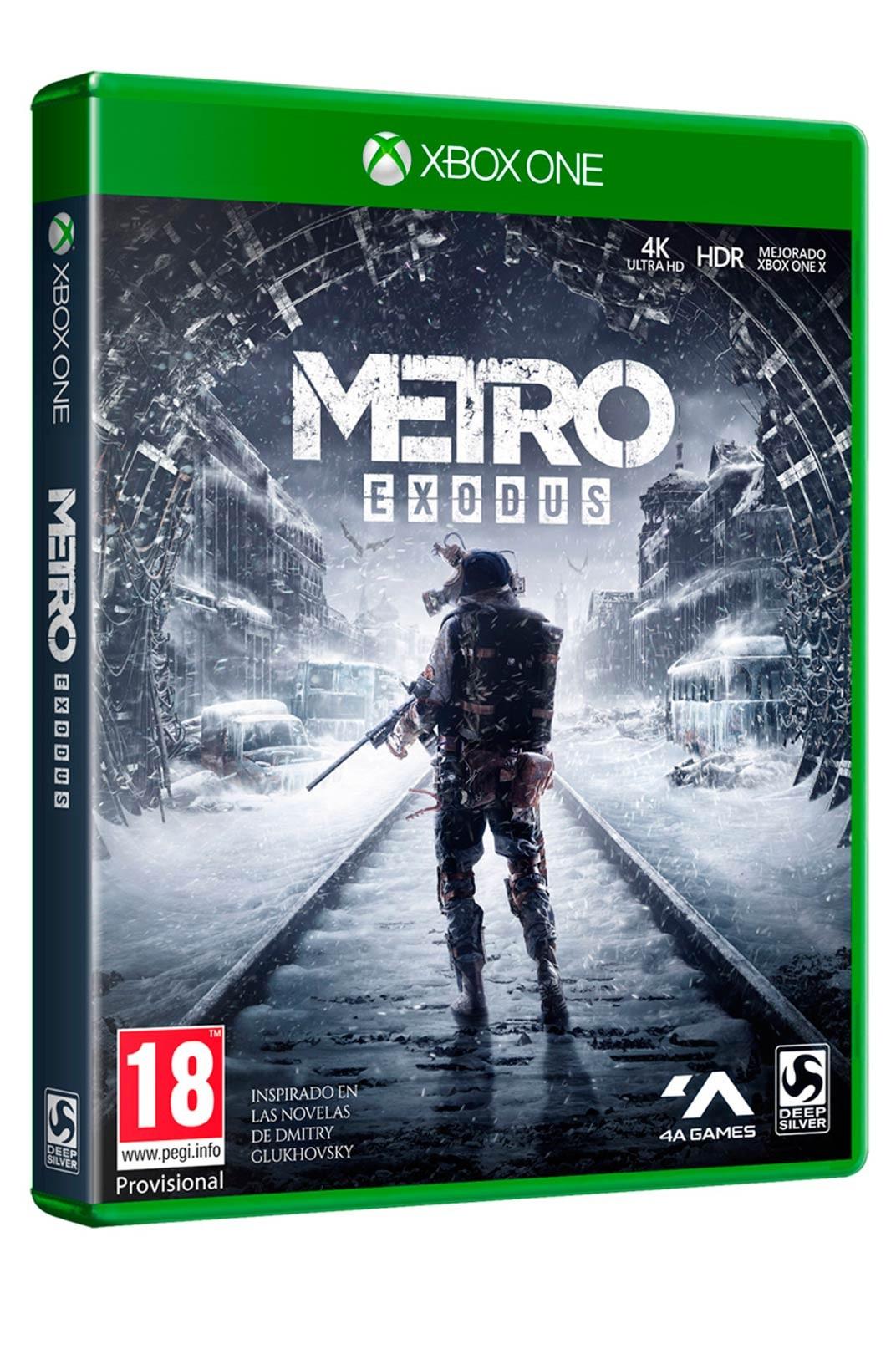 Metro Exodus XBOX ONE - Juego Físico - Nuevo y Precintado