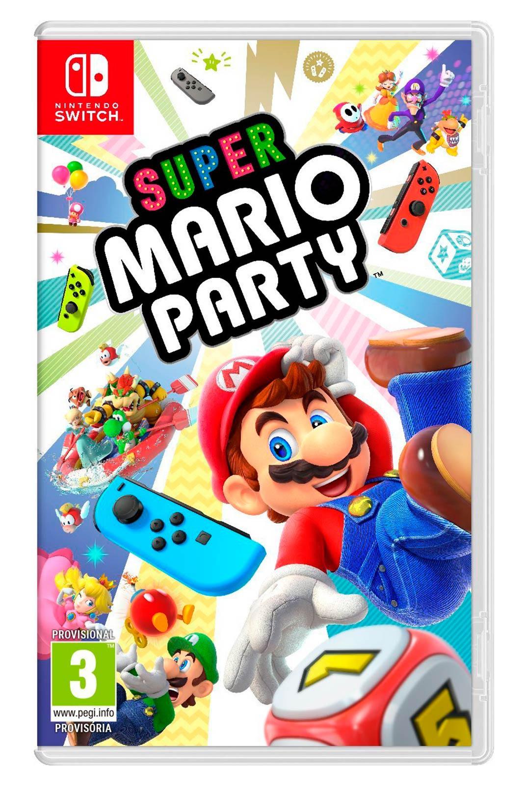Super Mario Party Nintendo Switch Juego Fisico Nuevo Y Precintado
