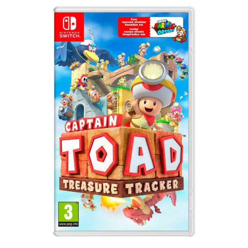Captain Toad Treasure Tracker Nintendo Switch - Juego Físico Nuevo y Precintado