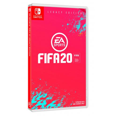 FIFA 20 Legacy Edition Nintendo Switch - Juego Físico Nuevo y Precintado