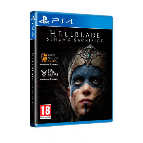 Hellblade Senua's Sacrifice PS4 Juego Físico Nuevo y Precintado