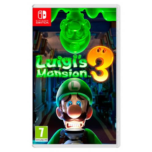 Luigi's Mansion 3 Nintendo Switch - Juego Físico Nuevo y Precintado