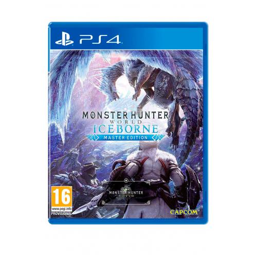 Monster Hunter World Iceborn Master Ed. PS4 - Juego Físico Nuevo y Precintado