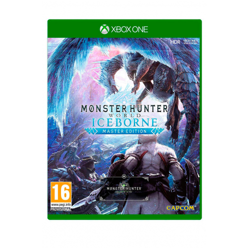 Monster Hunter World Iceborn Master Edition XBOX ONE Juego Físico