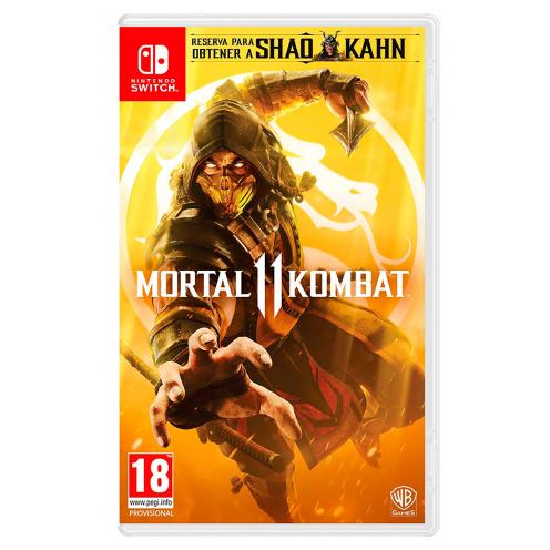 Mortal Kombat 11 Nintendo Switch - Juego Físico Nuevo y Precintado