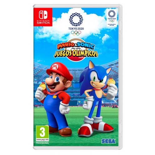 Mario & Sonic JJOO Tokyo 2020 Nintendo Switch - Juego Físico Nuevo y Precintado