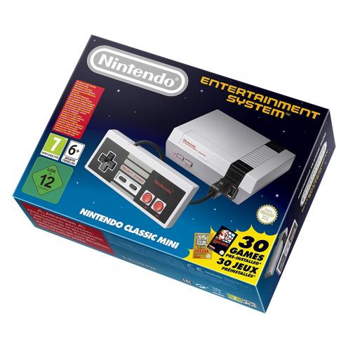 Nintendo NES Classic Mini - Incluye mando y 30 Juegos