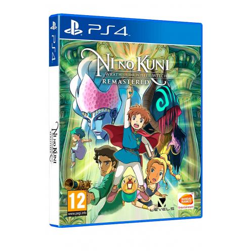 Ni No Kuni La Ira de la Bruja Blanca Remastered PS4 - Juego Físico