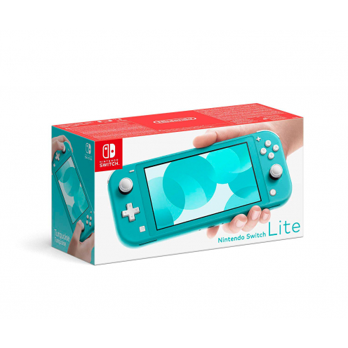 Nintendo Switch Lite Consola Azul Turquesa 32Gb