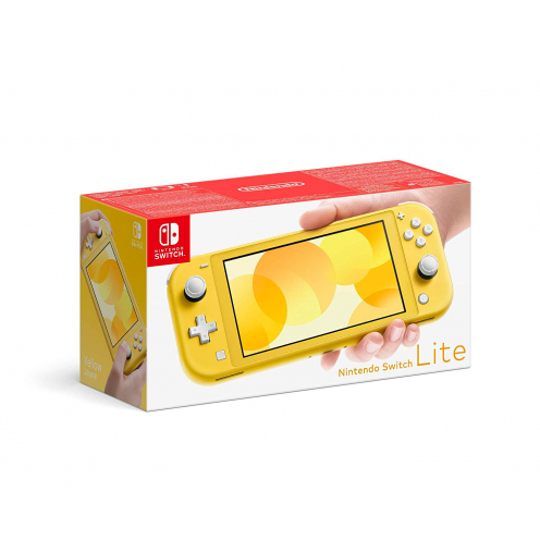 Nintendo Switch Lite Consola Amarilla 32Gb