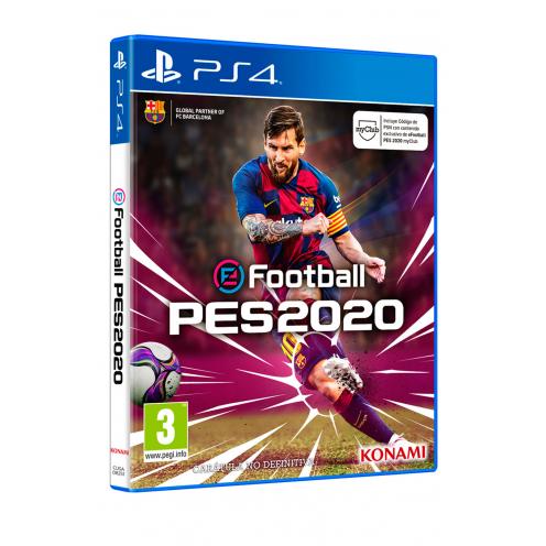 eFootball PES 2020 PS4 - Juego Físico Nuevo y Precintado