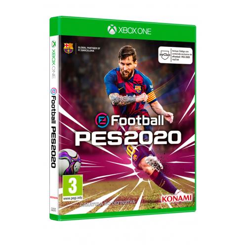 eFootball PES 2020 XBOX ONE Juego Físico - Nuevo y Precintado
