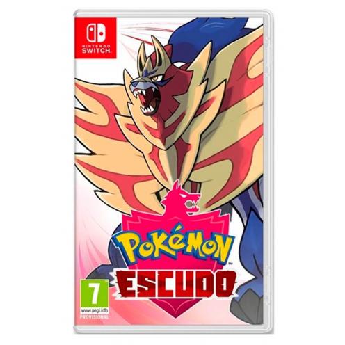 Pokémon Escudo Nintendo Switch - Juego Físico Nuevo y Precintado