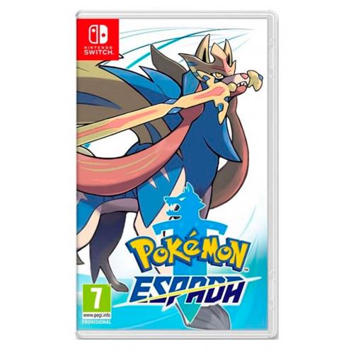 Pokémon Espada Nintendo Switch - Juego Físico Nuevo y Precintado
