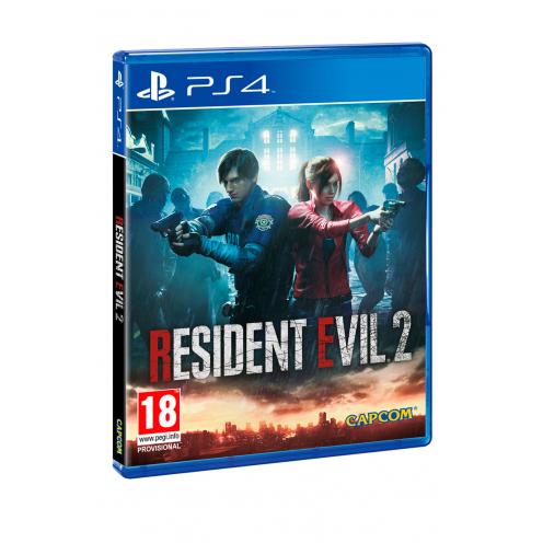 Resident Evil 2 Remake PS4 Juego Físico Nuevo y Precintado