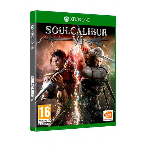 SoulCalibur VI XBOX ONE Juego Físico - Nuevo y Precintado