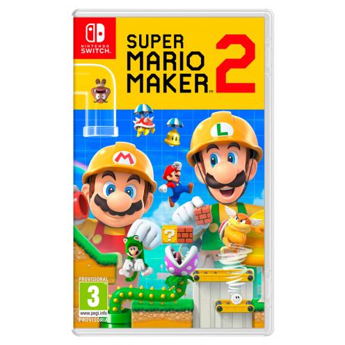 Super Mario Maker 2 Nintendo Switch - Juego Físico Nuevo y Precintado