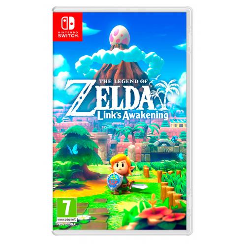 Zelda Link's Awakening Nintendo Switch - Juego Físico Nuevo y Precintado